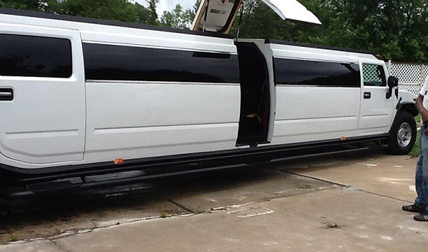 Hummer Lamb Door Limo