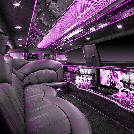 Lincoln Limo Interior